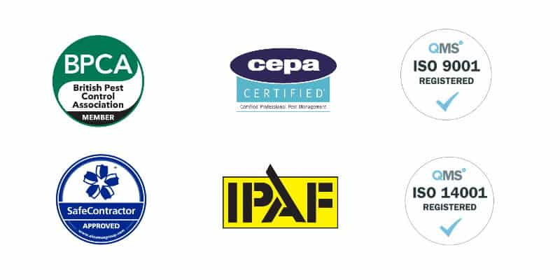 Pest Solutions Accreditation - Pest Control Glasgow